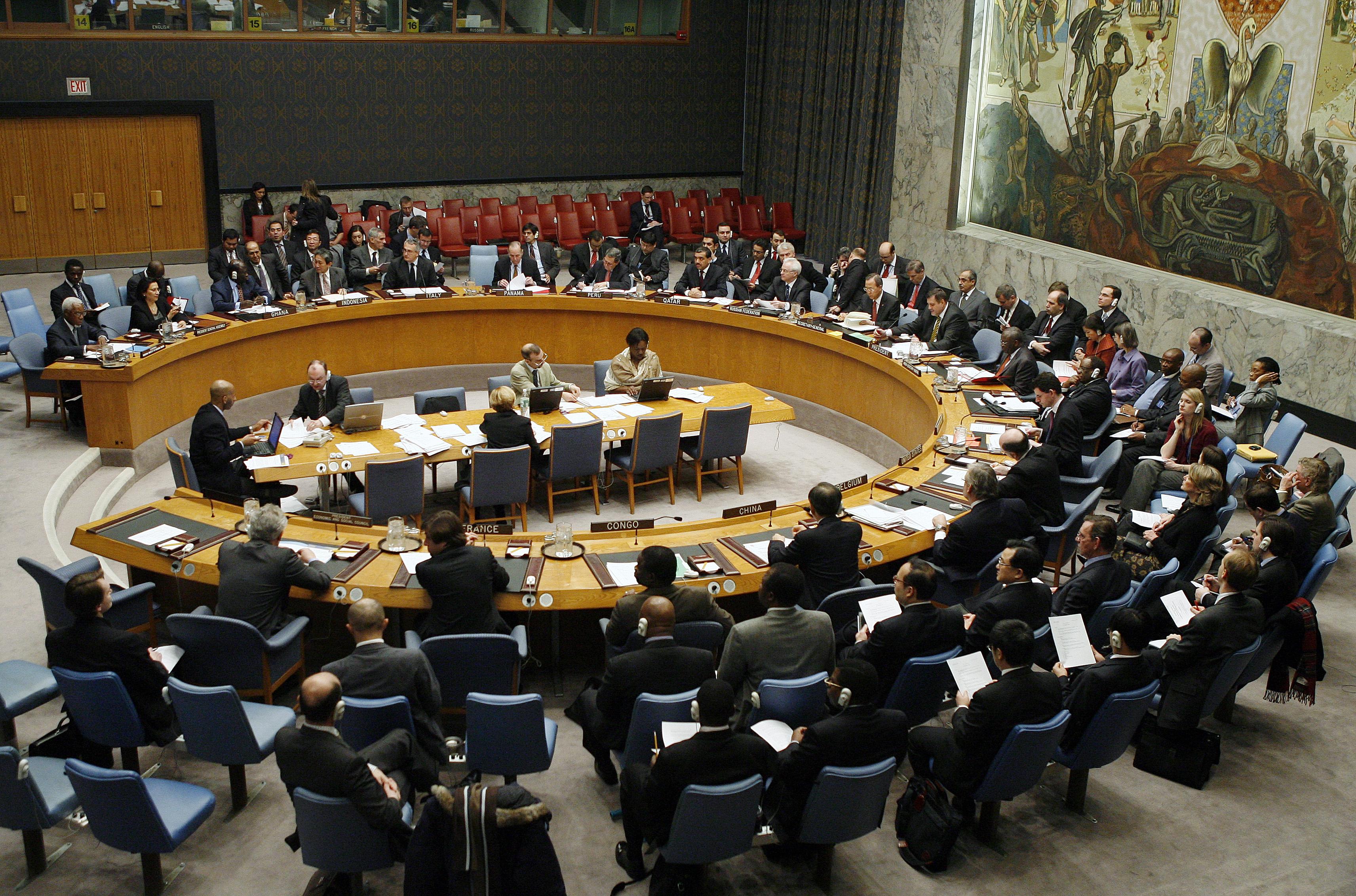 """Conferentie """"Is de VN Veiligheidsraad Failliet?"""" 21 mei"""