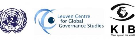 """Conferentie """"Nieuwe veiligheidsproblemen en de VN"""", 24 oktober, Leuven"""
