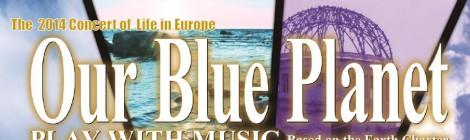 "Musical ""Our Blue Planet"" (24/11), Leuven"