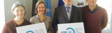 Lunchlezing over de VN hervorming door ambassadeur Bénédicte Frankinet (04/02)
