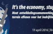 "Ontwikkelingsdebat: ""It's the economy, stupid"" (19/04)"