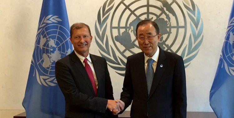 Nieuwe permanente vertegenwoordiger van België bij VN.