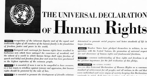 Lunch Lecture and Debate on 'The European Union and the Universal Declaration of Human Rights' (23/02)