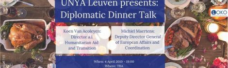 Diplomatic Dinner Talk (UNYA Leuven)