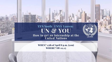 UN & You: an internship at the UN (UNYA Leuven)