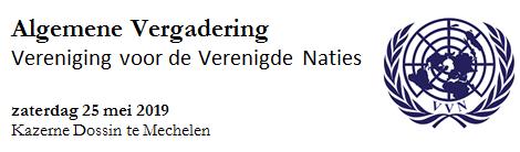 Algemene Vergadering VVN 25 mei 2019