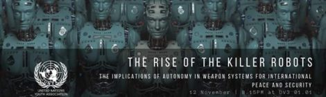 Rise of the Killer Robots (UNYA Leuven)