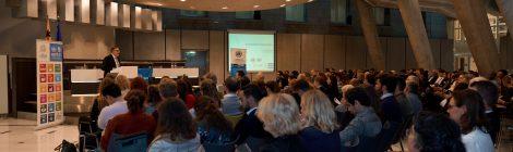 250 deelnemers vieren UN Day in het Vlaams Parlement
