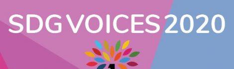 SDG Voices 2020 zijn bekend