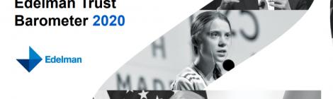 Edelman Trust Barometer 2020: lichte stijging van vertrouwen in VN